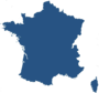map of France