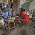 Hungry, scared South Sudanese stay in cathedral compound for protection