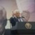 Palestinian Authority President Mahmoud Abbas speaking during a rally marking the 12th anniversary of the death of late Palestinian leader Yasser Arafat in the West Bank city of Ramallah November 10, 2016. (Flash90)