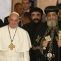 Catholics, Coptic Orthodox must work toward unity, pope says
